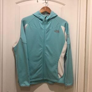 North Face zip hoodie. SZ L. Very good condition.